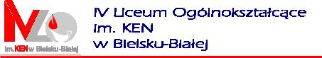 Logo szkoły IV Liceum Ogólnokształcące im. KEN